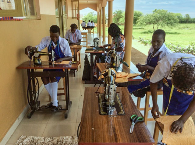 Matany Girls Vocational School - Sewing Class